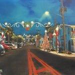 Bradenton Beach Christmas decorations