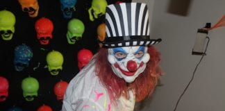 AME fall fest evil clown girl