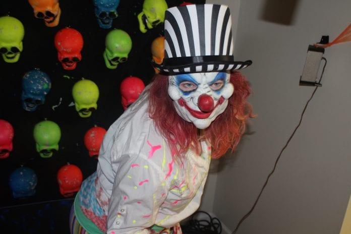 AME fall fest evil clown girl