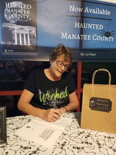 haunted manatee author signing