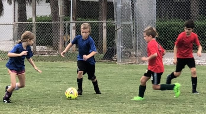 center youth soccer group