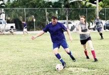 center soccer sato