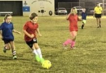 Center fall youth soccer