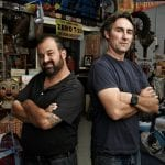 American pickers Mike and Frank