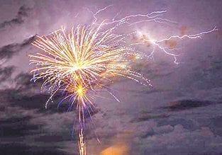 New Years fireworks display | AMI Sun