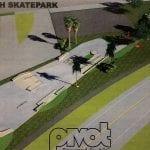 Holmes Beach skate park concept new