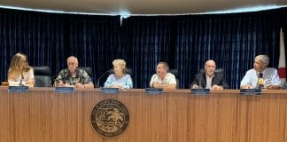 Holmes Beach swearing in commission