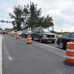 Bradenton Beach paving delays