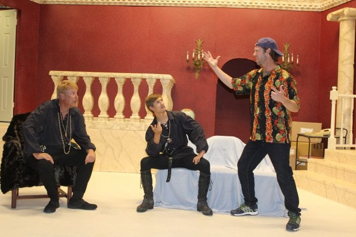 Island players I Hate Hamlet cast