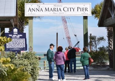 New Anna Maria City Pier taking shape
