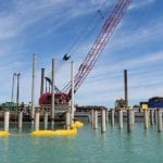 Mayor provides pier construction update