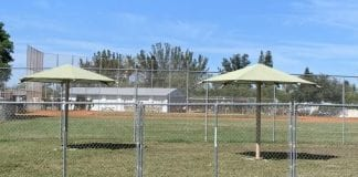 Dog park construction on hold