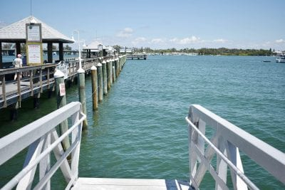 Dock floats delivered, project moving forward