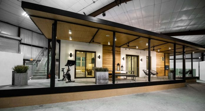 Developer previews sustainable Hunters Point home