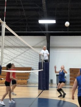 center adult volleyball