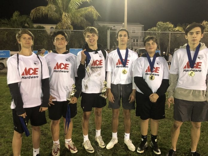 ACE Hardware undefeated champions