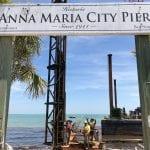 Last pier piling driven