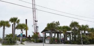 Pier pavilion closing temporarily