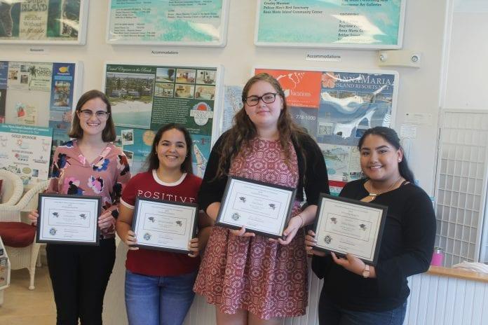 Four chosen for chamber scholarships