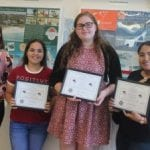 Four chosen for chamber scholarships
