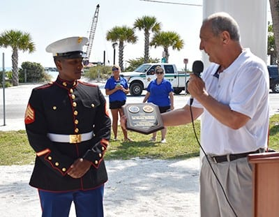 Anna Maria salutes veterans on Memorial Day