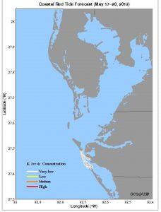 Red tide, blue-green algae persist in local waters