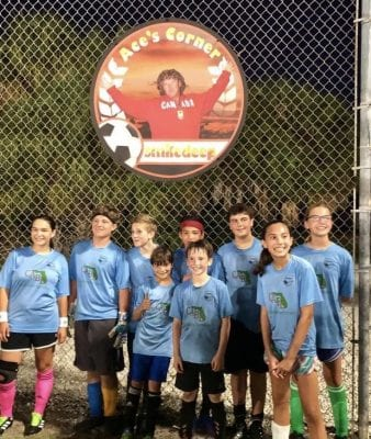 Center youth soccer CABB