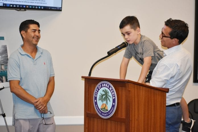 Anna Maria provides ongoing Center support