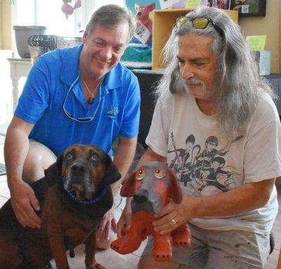 Peter Osman a 'Doggone' good artist