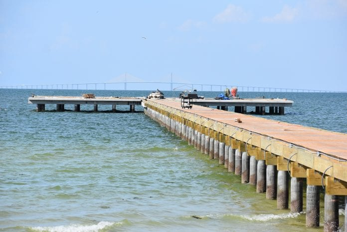 HardiePlank selected for pier building exteriors