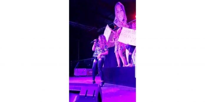 Breanne crowned karaoke champ
