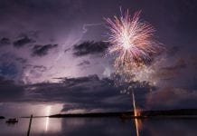 Swordfish Grill hosting permitted fireworks display Friday night