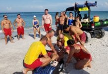 Pool, beach lifeguards train together