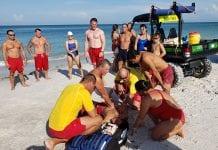 Pool, beach lifeguards train together