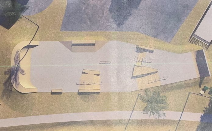 Skate park design nears completion