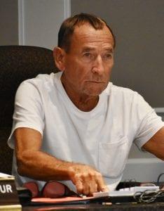 Crane, Woodland file preliminary campaign paperwork