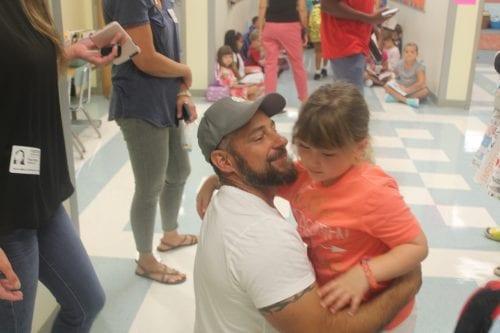Anna Maria Elementary hug