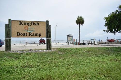 Kingfish boat ramp