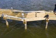 Barge damages new Anna Maria City Pier