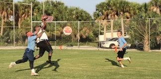 Family and friends on the gridiron: Gulfview bests Moss Builders