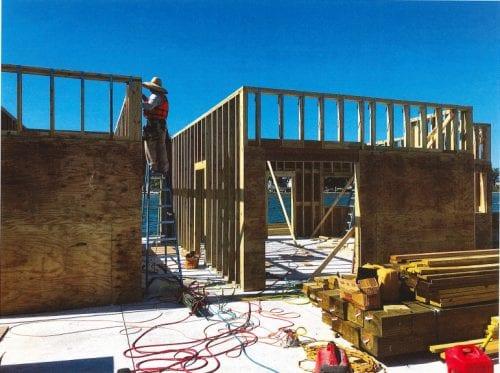 Construction of Anna Maria City Pier buildings begins