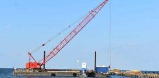 Pier repairs resume