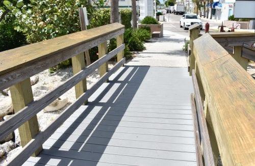 White PVC railings discussed for Bridge Street Pier
