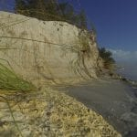 Post-Tropical Cyclone Nestor affecting Anna Maria Island