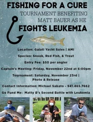Fishing tournament raising funds for Matt Bauer