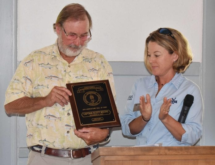Scott Moore inducted into Agricultural Hall of Fame