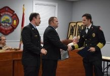 WMFR celebrates promotions, awards