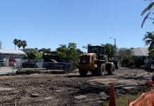 Construction moves forward at city field