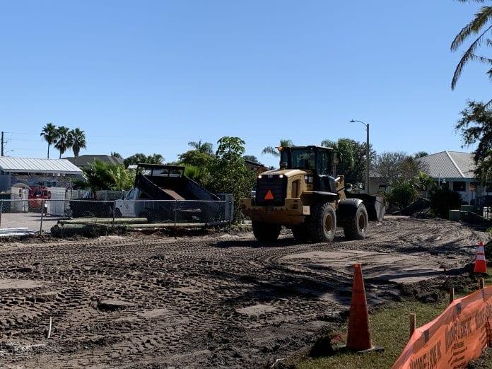 Construction moves forward at city field
