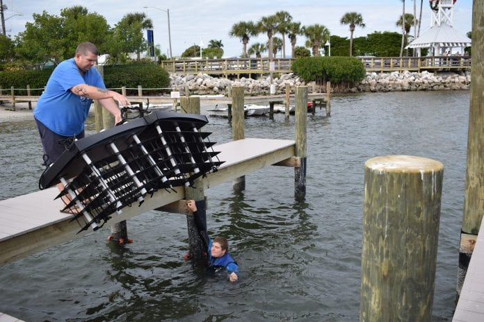 Reef project helps filter local waters